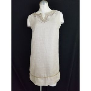 Ann Taylor LOFT Size 0 Embellished Shift Dress
